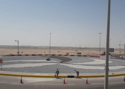Rehabilitation of Distortions, Emergency Works, Assessment of Traffic Accidents, and Removal of Random Plantation within the Geographical Area of Municipality Branch Ccenter – Al Wathba
