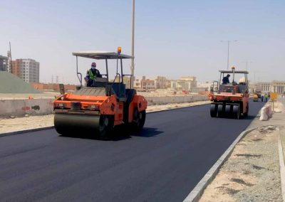 Development of Roads, Infrastructure and Streetscapes at Khalifa City South West Sectors 14, 15 & 16  (Contract 232-4)