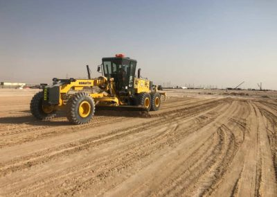 Road Works in ICAD IV & Ruwais Freight Facility for Ethiad Rail Project – Package 2F2