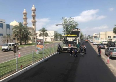 Maintenance works for Roads, Pedestrians Bridges and Tunnels, In Abu Dhabi Island (All East Sectors)