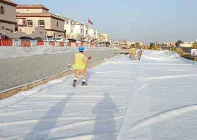 Development of Roads, Infrastructure and Streetscapes at Khalifa City South West Sectors / Zone 1 (Contract 232-3)