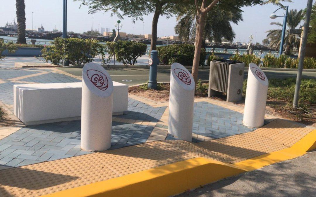 Resumption of Bollard Installation in Corniche Road